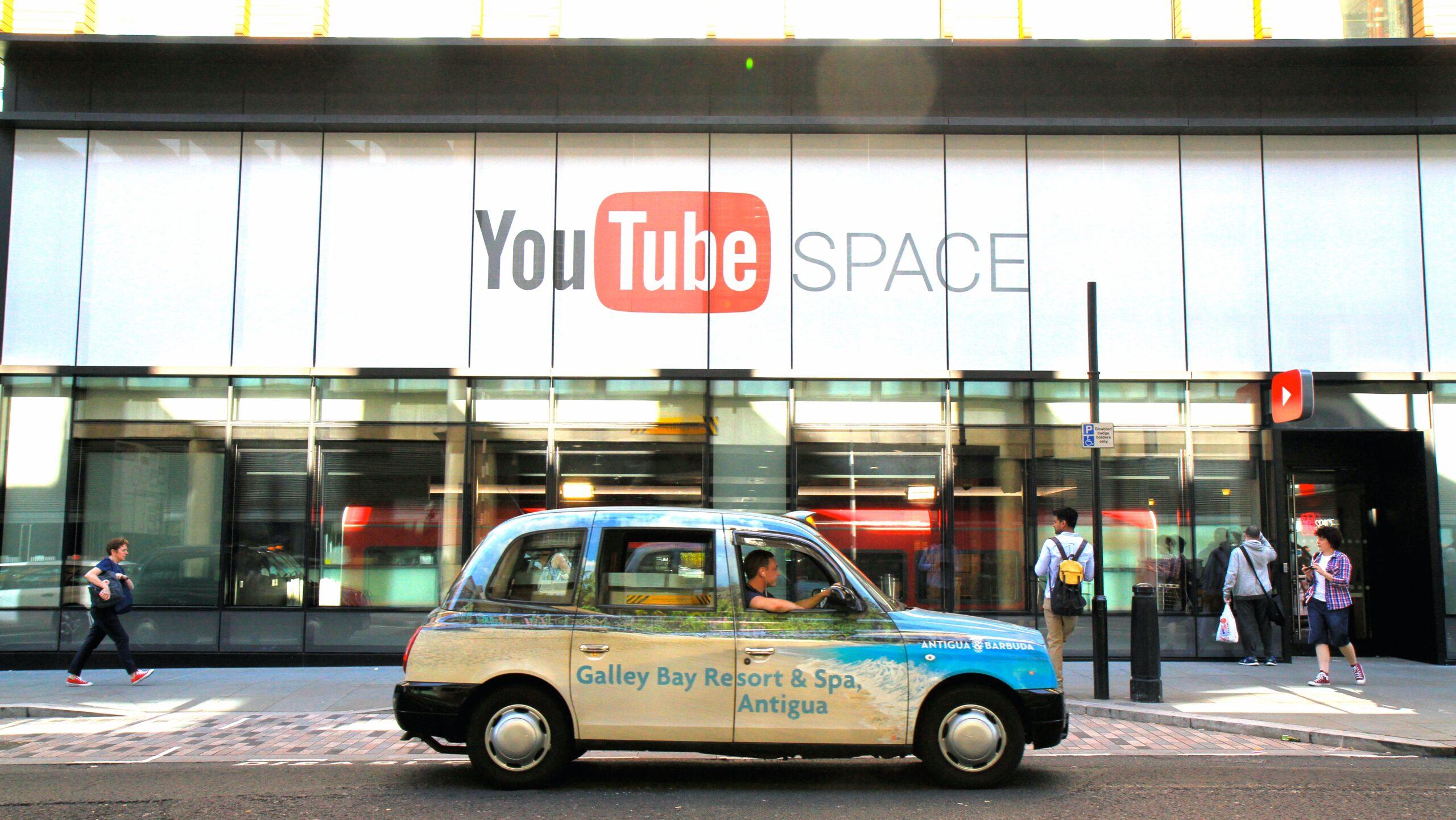 YouTube Space, London, Kings Cross