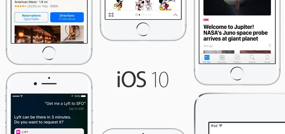 Photo Credit: Apple iOS 10
