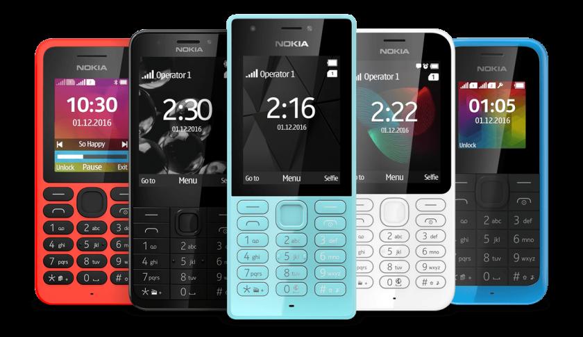 Nokia's existing range Photo Credit: Nokia
