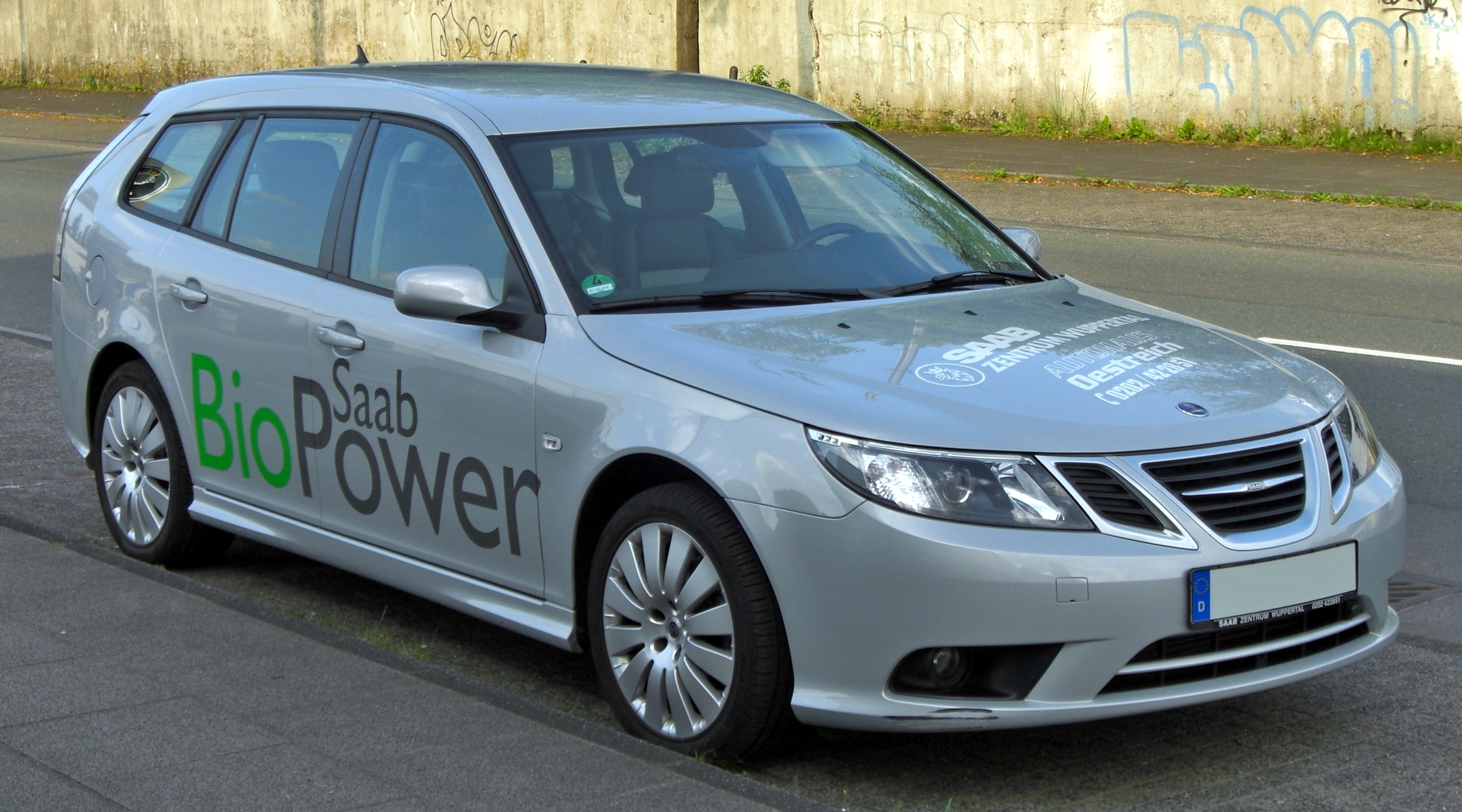 Saab_9-3_SportCombi_1.8t_BioPower_Facelift_front