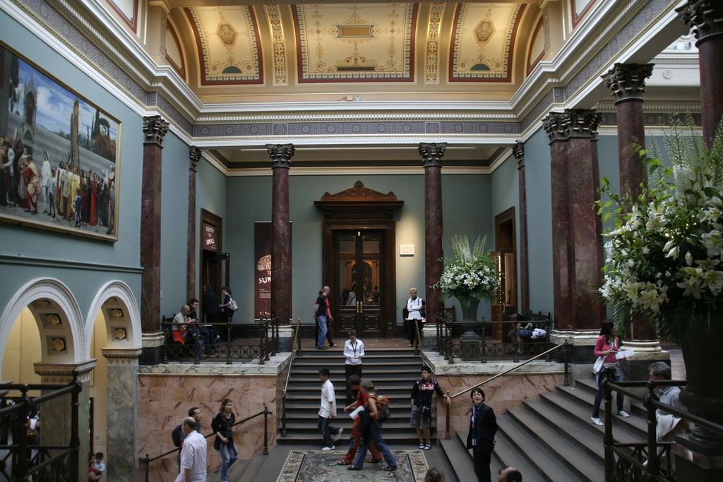 national gallery google art tour